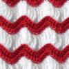 Vintage crochet afghan pattern preview