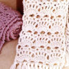 crochet lace scarf preview
