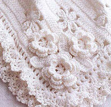 Beautiful crochet blanket for babies preview
