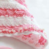 Lace crochet bonnet pattern for newborns preview