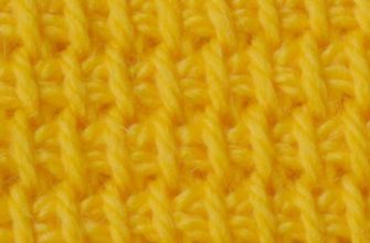 Simple stitch for tunisian crochet patterns preview