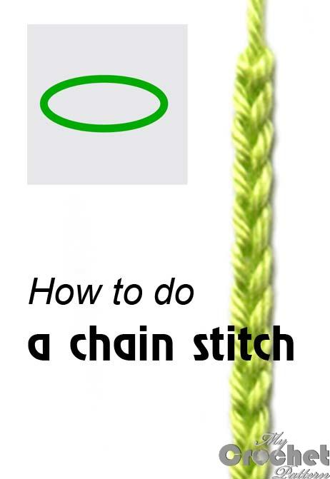 how to do a chain stitch photo
