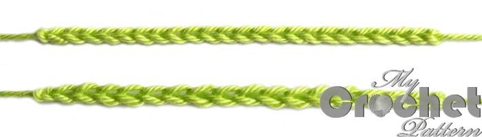 multiple chain stitches photo