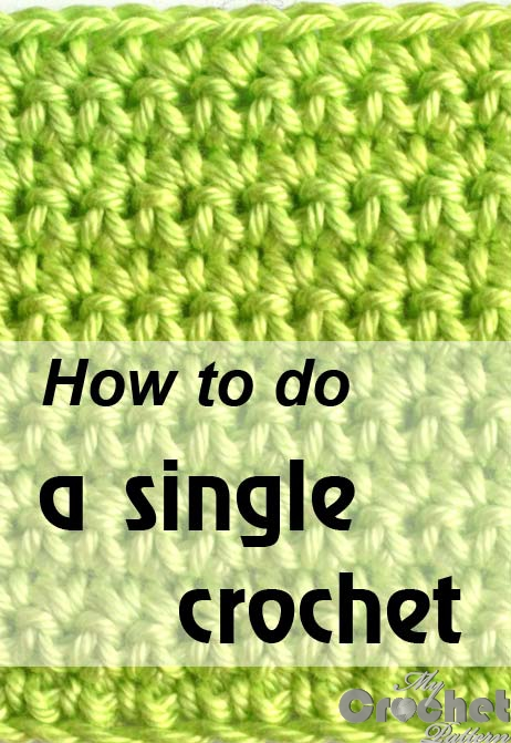 how to do a single crochet - photo