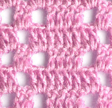 purple filet pattern with squares