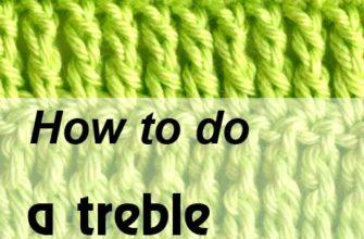 how to do a treble crochet