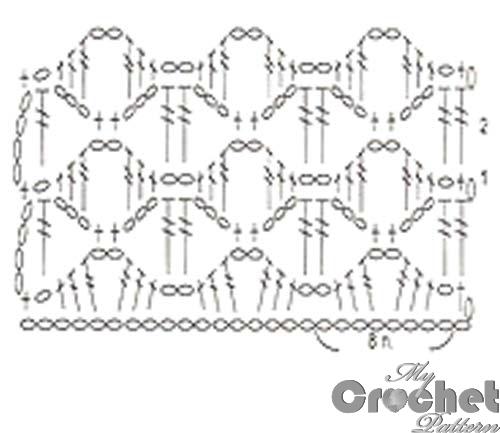 orange lace pattern red stripes