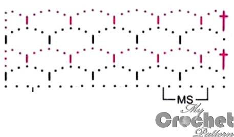 green lace network pattern