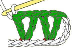 V-stitch - step 5