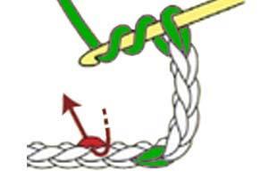 Y-stitch - step 1