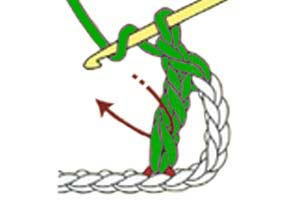Y-stitch - step 2