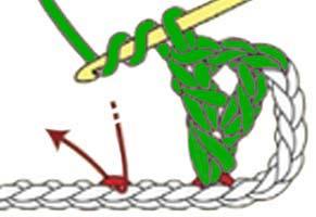 Y-stitch - step 4