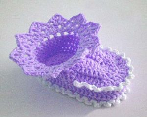 baby booties crochet pattern for beginners - big photo