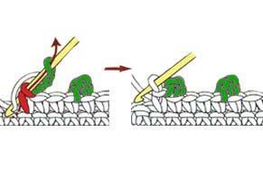 chain 3 picot - step 4