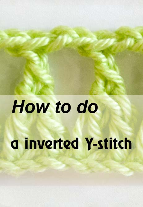 inverted Y-stitch - preview