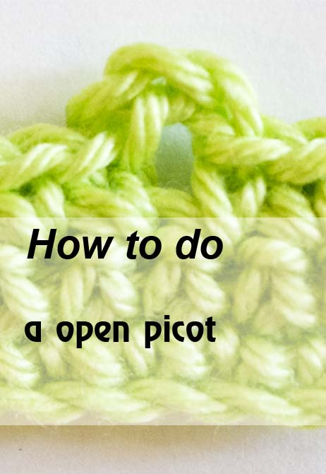 open picot - preview