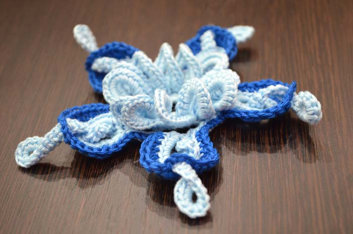 amazing 3d crochet flower pattern