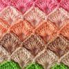 multicolour crochet box stitch pattern