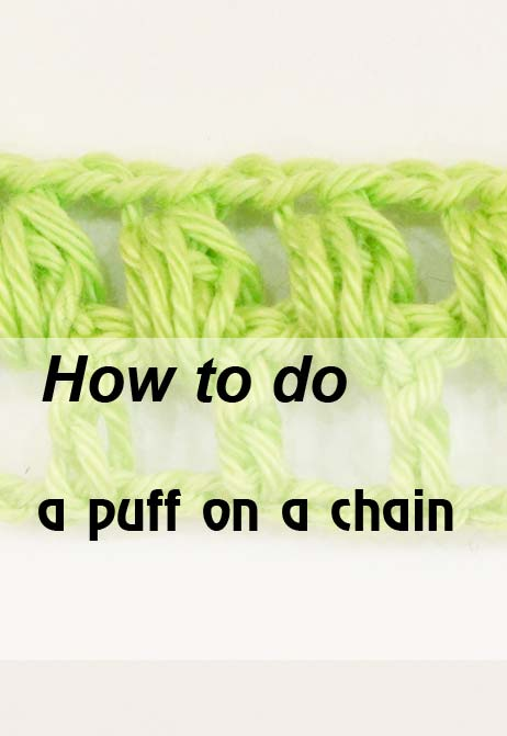 puff on a chain - preview