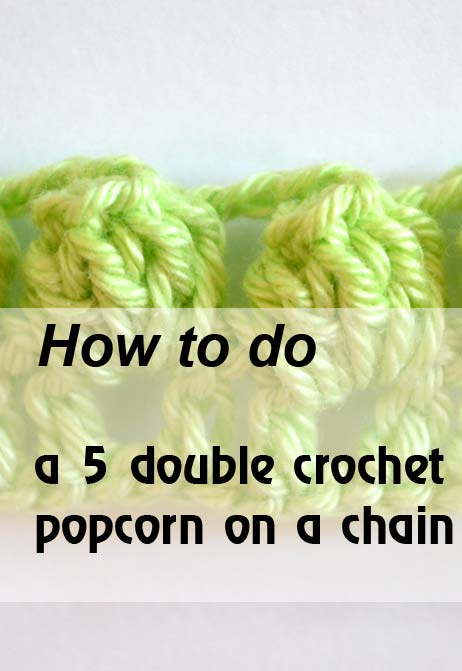 5 dc popcorn on a chain - preview