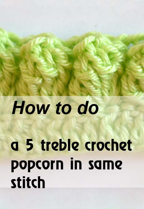 5 trc popcorn in same stitch -preview