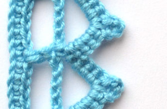 blue lace crochet edging - preview