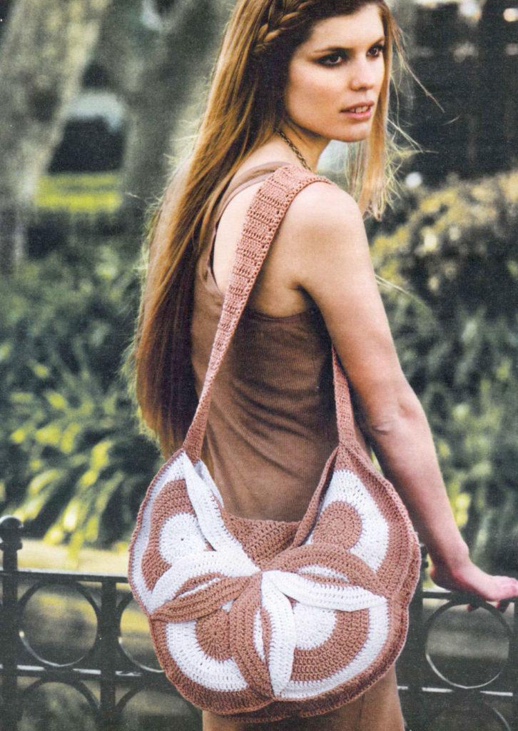 crochet purse - photo
