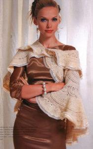 round shawl crochet pattern - photo