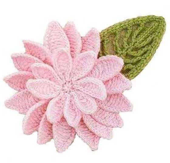 crochet lily - photo