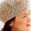 cute crochet beret pattern - preview