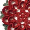 lace crochet flower - preview