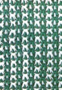 ocean wave tunisian crochet pattern - preview