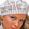 white crochet beret pattern - preview