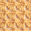 brown shell crochet lace pattern - preview