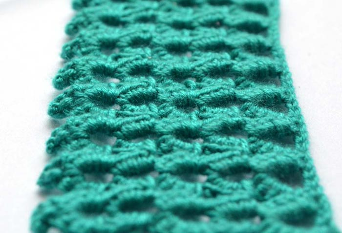 green arches crochet pattern - photo 1