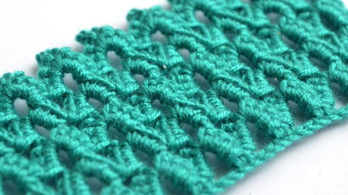 green arches crochet pattern - photo 2