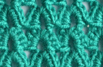 green arches crochet pattern - preview