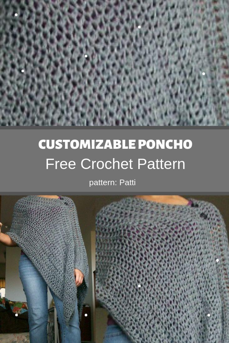 Customizable Poncho