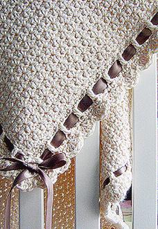 Tiramisu baby blanket - preview