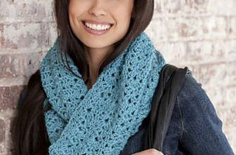 bellflower infinity scarf photo