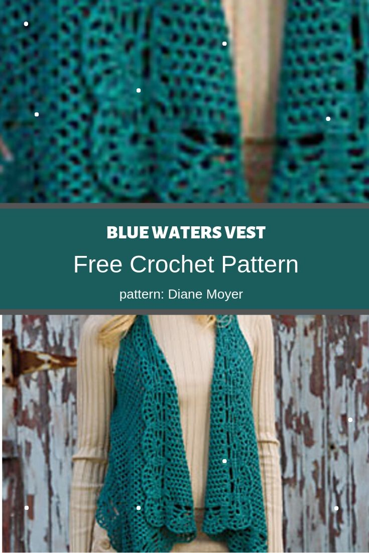 blue waters vest preview