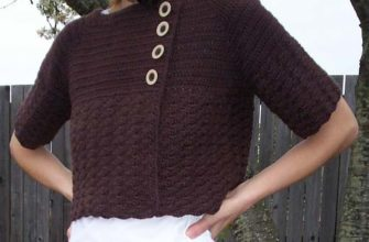 c3 crochet crop cardigan photo