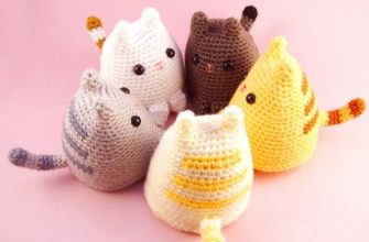 dumpling kitty crochet pattern