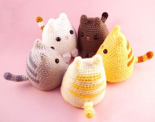 dumpling kitty crochet pattern