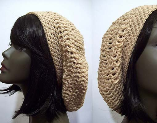 easy slouchy beret photo