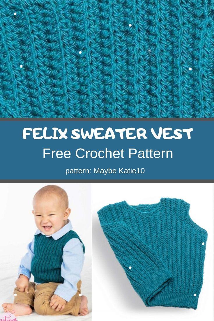 felix sweater vest