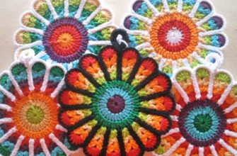 flower potholders photo