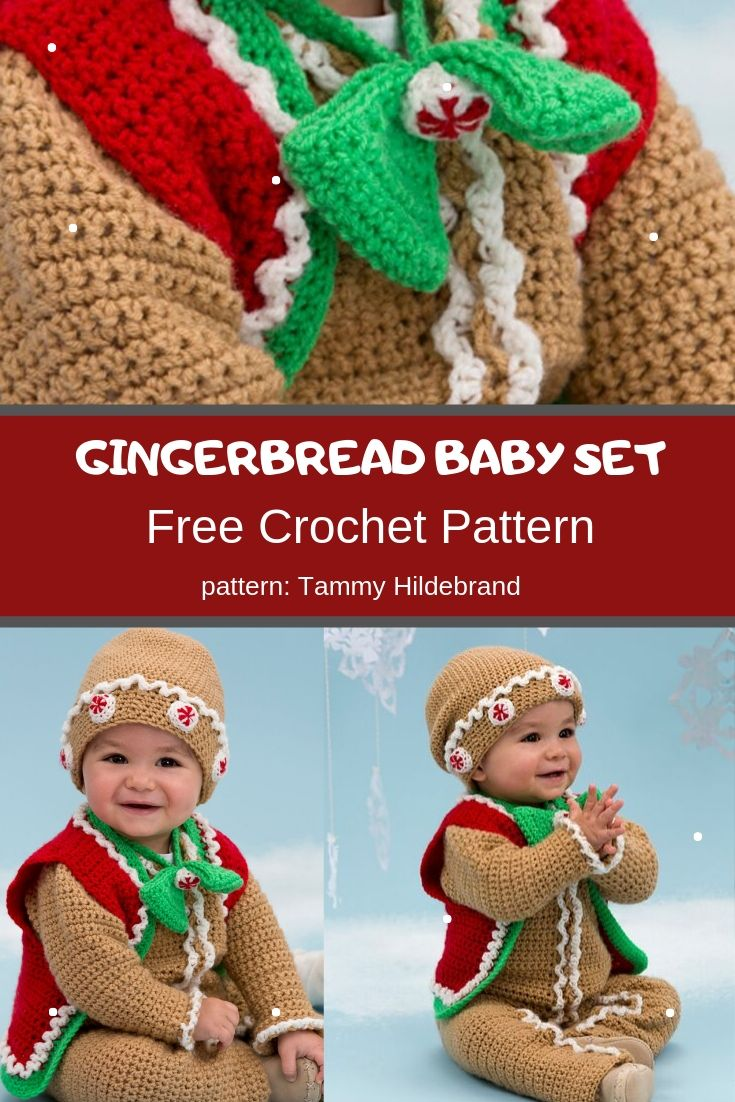 gingerbread baby set