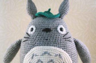 grey totoro amigurumi - photo