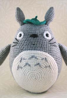 grey totoro amigurumi - preview